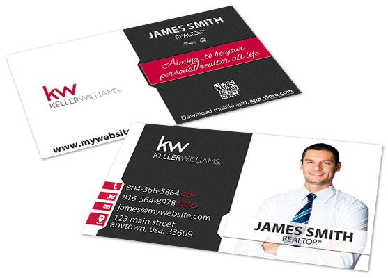 Business Cards | Keller Williams Business Cards, Keller Williams Business Card Templates, Keller Williams Business Card designs