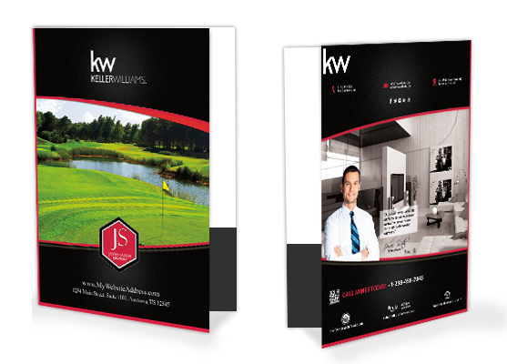Keller Williams Folders, Keller Williams Folder Templates, Keller Williams  Folder Designs, Keller Williams  Folder Printing and Keller Williams  Folder Ideas