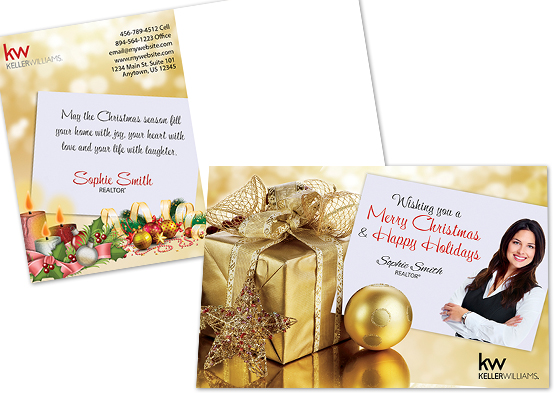 Keller Williams Holiday Postcards, Keller Williams Christmas Postcards, Keller Williams Holiday Postcard Designs, Keller Williams Holiday Postcard Printing and Keller Williams Holiday Postcard Ideas
