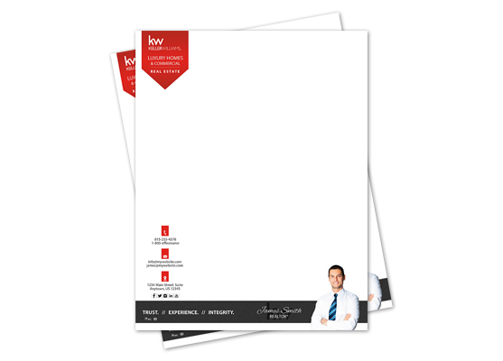 Keller Williams Letterheads, Keller Williams Letterhead Templates, Keller Williams Letterhead Designs, Keller Williams Letterhead Printing and Keller Williams Letterhead Ideas