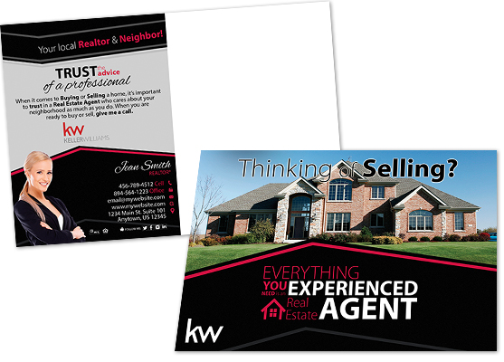 Keller Williams Printing Marketing Products | Keller Williams Printing, Keller Williams Design, Keller Williams Marketing